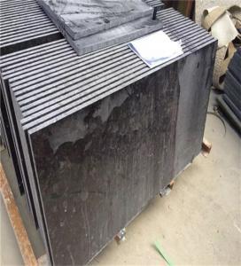 Outdoor Granite Marble Stone / Black Granite Kitchen Floor Tiles Manufactures