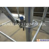Flexible Ringlock Scaffolding System , Wedge Lock Scaffolding High Stability Manufactures