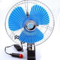 Plastic Back Guard Car Cooling Fan , Mini Auto Cool Fan With Switch Dc12v Manufactures