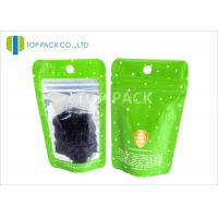 Laminated 120 micron Coffee Packaging Bags / Zip Lock resealable foil pouches Manufactures