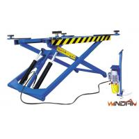Thin Structure HydraulicMovable Scissor Lift ForTyre Repair And Body Paint Manufactures