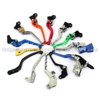 Aluminum Motorcycle Brake Clutch Lever Adjustable Long Shorty Folding Levers Manufactures