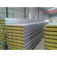 Anti Corrosion Sandwich Panel Roof , Composite Metal EPS Sandwich Roof Panels Manufactures