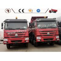 30-50 Ton Small Heavy Dump Truck For Construction Work , Commercial Dump Trucks Manufactures