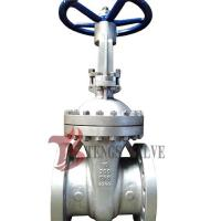Quality Cast Stainless Steel Gate Valve A351 CF8 SS304 300LB With Bolted Bonnet Design for sale