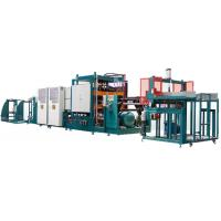 PLC Forming Polystyrene Production Line 1000X1250 Forming Area With Hydraulic System Manufactures