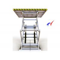 100 M/S Electric Scissor Lift Table , Steady Up / Down Electric Hydraulic Lift Table Manufactures