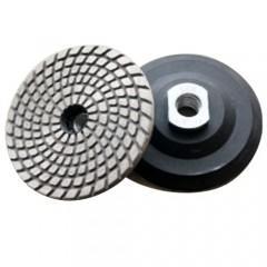 Metal Bond Flexible Diamond Polishing Pads , Granite Polishing Pads For Hard Materials Manufactures