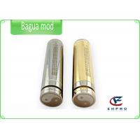 China Full Stainless Steel E Cigarette Bagua Mod With 18650 / 18500 / 18350 Sizes on sale
