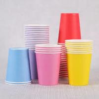 Recyclable Eco Friendly Paper Cups SGS ISO FSC FDA Ceritificate Manufactures