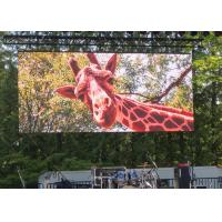 Roadside Rental LED Display Hanging Type 4.81mm Pixel Pitch IP65 / IP66 Grade Manufactures