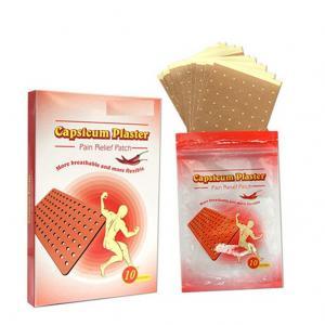 Capsicum Plaster  in box packing (10 pcs per box) Manufactures