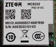 CDMA 1X Module:ZTE MC8332 Manufactures