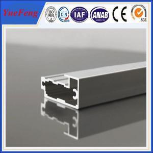 China aluminum frame extrusions/ Custom aluminium extrusion frame for door / aluminum door frame on sale