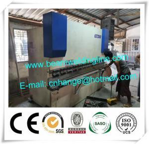 CNC Hydraulic Press Brake With Delem Controller DA69T CNC System Manufactures