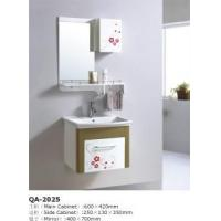China White Clear Bathroom Design Ideas Cabinet Set (GBW061) on sale