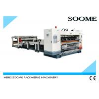 1600mm Corrugated Cardboard Production Line 2 Ply Single Facer For Making Carton Manufactures