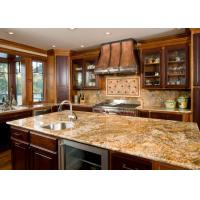 Italian Grey Color Natural Granite Countertops Polished Honed Surface Manufactures