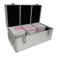 Gray Handle Aluminum DVD Storage Case / 300 CD Case / 500 CD Cases MS-Sto-13 Manufactures