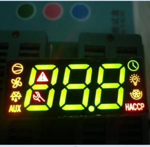 Fridge Control Custom LED Display , 7 Segment Led Display 3 Digit Super Bright Manufactures