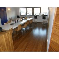 Anti - Scratch Finish 3-ply or Multiply Engineered Strand Woven Bamboo Flooring Durability Manufactures
