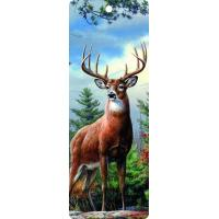 Cute Reindeer 5.6x15.3cm Size 3D Lenticular Bookmark With Colorful Tassel Manufactures