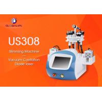 CE Approved 6 In 1 Ultrasonic Cavitation Slimming Machine Wind And Water Cooling System Manufactures