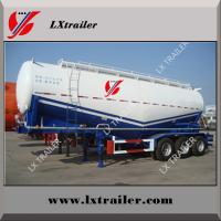 3 axles dry powder tanker semi trailer bulk cement truck trailer Manufactures
