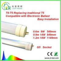 T8 - T5 LED Tube Replacing Traditional G5 T5 130 LM / W EMC Passed Driver Manufactures
