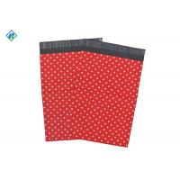 Wateroof high quality 8x10'' self adhesive custom printed red color poly mailers Manufactures