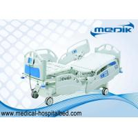 China Automatic Hospital ICU Bed With Extensive Foot Section And Central Controller Panel wholesale