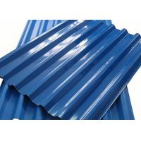 0.4 - 10mm Thick Color Coated Aluminum Corrugated Metal Roofing Sheets Manufactures