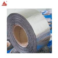 China Durable Self Adhesive Bitumen Waterproof Membrane Roof Repair Flashing Tape on sale