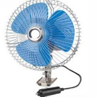 """Screw Mounting Vehicle Cooling Fans , 8"""" Oscillating Auto Cool Fan In Blue Manufactures"""