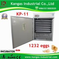 Holding 1232 Eggs Ce Marked Automatic Incubator for Hatching Eggs Ce Approved Manufactures
