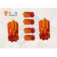 Valveless Air Distribution Drilling Rig Tools , Rock Ballistic Button Bits Manufactures