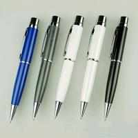 1GB , 2GB Personalized Pen USB Flash Drive With Laser Engraved Logo Manufactures
