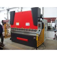 WC67Y 125T Custom-designed Hydraulic CNC Press Brake Machine With Cnc Control System Manufactures