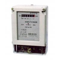 Two Wires Single Phase Electric Meter Active Energy Measuring With Register Display Manufactures