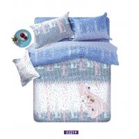 Combed Sateen Bedding Sets, Fashion Striped Cotton Bed Sets For Homehold Manufactures