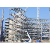 China Large Project Steel Frame House Construction , Commercial Metal Buildings on sale