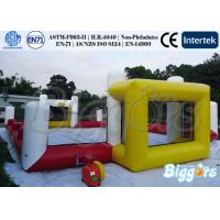 Cartoon Inflatable Sports Games Soccer Court and Basketball Field Manufactures