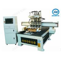 Factory Price Economic Automatic Tool Changer CNC Router For Sale With 4 Heads Manufactures
