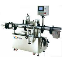 Vertical Round Bottle Positioning Label Sticker Equipment, Automatic Labeling Machine Manufactures
