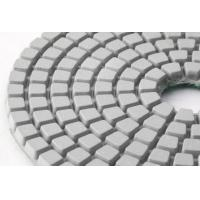White Flexible Wet Polishing Pads for General Use DM-02 Manufactures