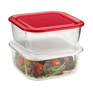 Borosilicate Glassware Square Food Storage Container Sets Manufactures