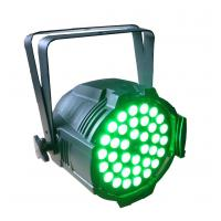 36pcs 10w RGBW 4in1 IP33 DMX Indoor LED Par Can Lights For Dj / Night Club / Disco Red,Green,Blue,White color Manufactures
