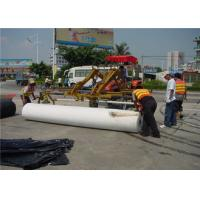 Environment Renewable Pavement Overlay Waterproof Polyester Fabric underlayment Manufactures
