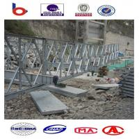 Steel Bridge in PNG,portable bridge,cantilever launch bridge,temporary bridge,mabey bridge Manufactures