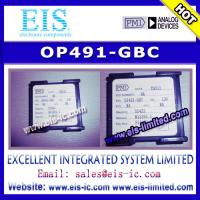 OP491-GBC - PMI - Micropower Single-Supply Rail-to-Rail Input/Output Op Amps - Email: sale Manufactures